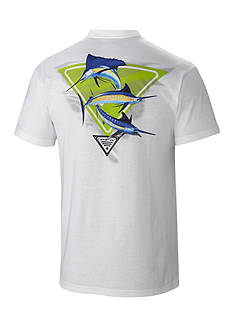Columbia™ Big & Tall PFG By The Shore Marlin Short Sleeve Tee