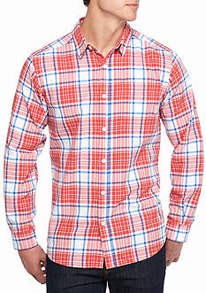 Columbia Steeple Ridge™ Plaid Long Sleeve Shirt