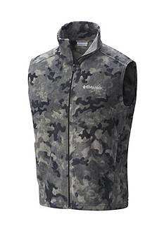 Columbia Steens Mountain Printed Fleece Vest