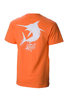 Columbia PFG Short Sleeve Silhouette Marlin Graphic Tee