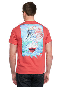 Columbia PFG Artistic Americana™ Short Sleeve Graphic Tee