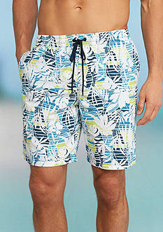 Columbia Lakeside Leisure™ Printed Swim Trunks