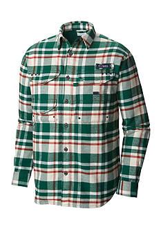 Columbia Long Sleeve PFG Bonehead™ Flannel Shirt Jacket