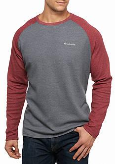 Columbia Ketring™ Raglan Waffle Long Sleeve Shirt