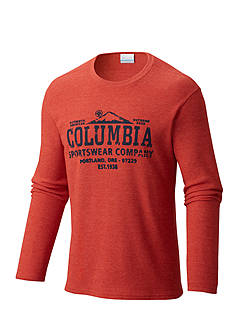 Columbia Big & Tall Ketring Graphic LS Shirt