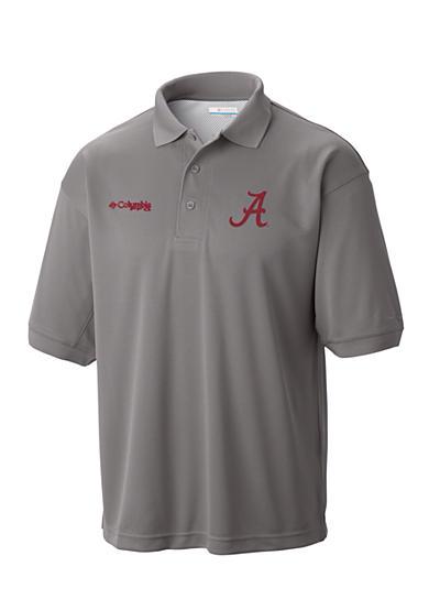 Columbia alabama crimson tide low drag polo shirt belk for Alabama crimson tide polo shirts