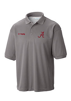 Columbia Alabama Crimson Tide Low Drag Polo Shirt
