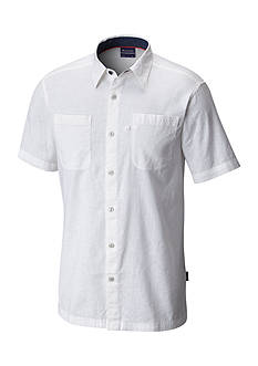 Columbia PFG Harborside™ Linen Camp Short Sleeve Shirt