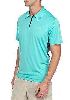 Columbia Cool Coil™ Zip Polo Shirt