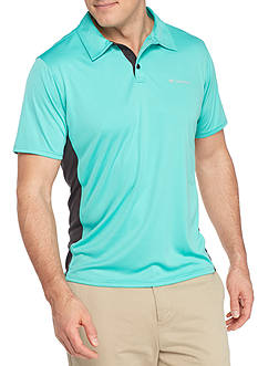 Columbia Big & Tall Cool Coil Button Down Polo Shirt