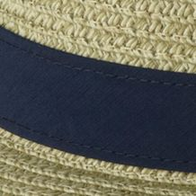 Men's Activewear: Hat, Scarves And Gloves: Fossil, Collegiate Navy Columbia PFG Bonehead Straw Hat
