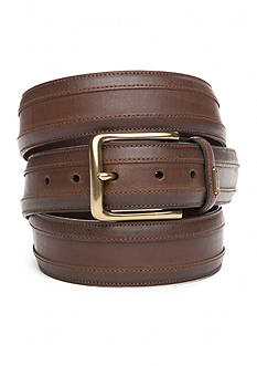 Tommy Hilfiger Big & Tall Saddle Leather Casual Belt