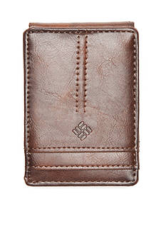 Columbia™ Glazed Rustler Trifold RFID Security Wallet