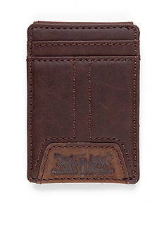 Levi's Magnetic Front Pocket Money Clip Wallet