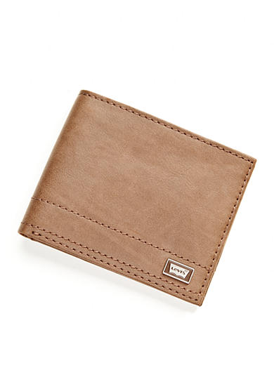 Levi's® Passcase Leather Wallet