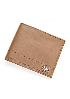 Levi's Passcase Leather Wallet