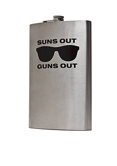 Wembley™ Suns Out Guns Out 64 oz. Flask