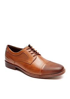 Rockport Style Purpose Perforated Cap Oxford
