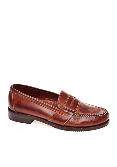 Cole Haan Douglas Saddle Tan Slip-On