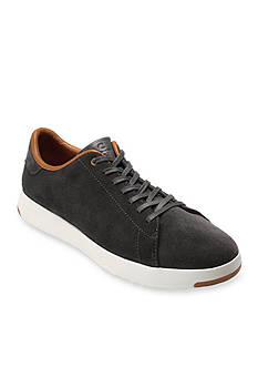 Cole Haan Grand Pro Suede Tennis Shoe