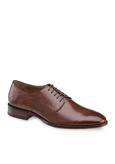 Johnston & Murphy Nolen Plain Toe Lace Up Oxford