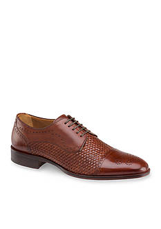 Johnston & Murphy Nolen Woven Cap Toe Oxford