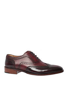 Johnston & Murphy Nolen Wingtip Shoe