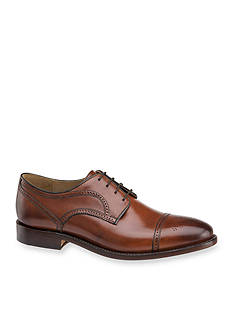 Johnston & Murphy Collins Cap Toe Derby