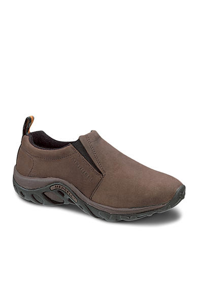 Merrell Jungle Moc Nubuck Slip-On-Extended Sizes Available