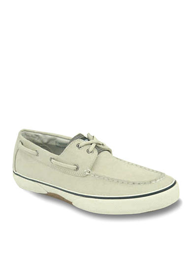 Sperry® Haylard Ecru Canvas Boat Shoe