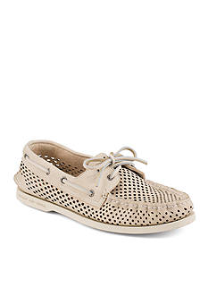 Sperry Perforated Boat Shoe