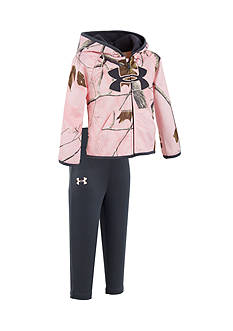 Under Armour Big Logo Real Tree Hoodie Set