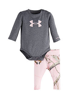 Under Armour Big Logo Real Tree Set