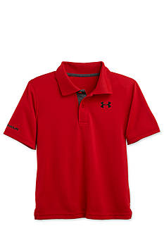 Under Armour Short Sleeve Solid Polo Toddler Boys