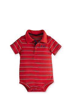 Under Armour Striped Polo Bodysuit
