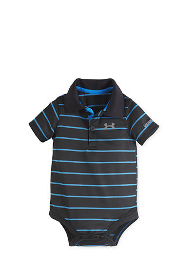 Under Armour® Striped Polo Collar Bodysuit