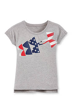 Under Armour American Flag Top