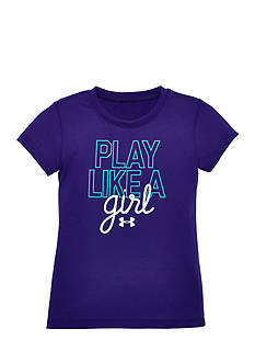 Under Armour® 'Play Like a Girl' Tee Toddler Girls