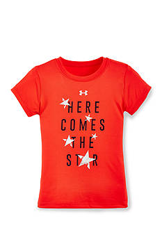 Under Armour 'Here Comes The Star' USA Tee Toddler Girls