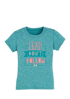 Under Armour® 'Lead Don't Follow' Tee Toddler Girls