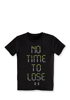 Under Armour® 'No Time To Lose' Tee Toddler Boys