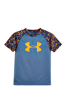 Under Armour® Micro Camo Raglan Tee Toddler Boys