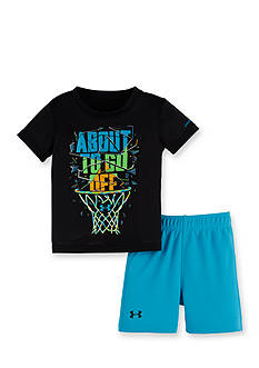 Under Armour® 2-Piece 'About To Go Off' Shirt and Short Set