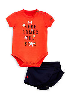 Under Armour® 2-Piece Here Comes the Star Bodysuit and Skirt Set
