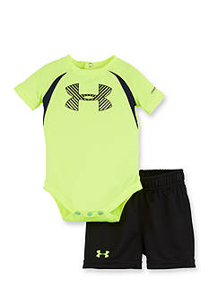 Under Armour 2-Piece Energy Big Logo Bodysuit and Short Set