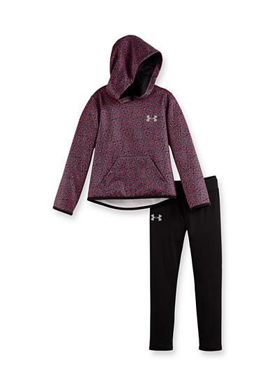 Under Armour® 2-Piece Chain Grid Hoodie Set Toddler Girls