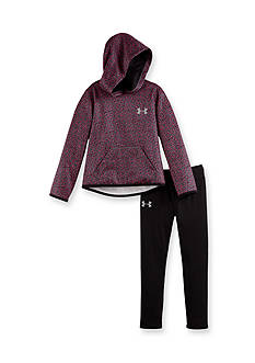 Under Armour 2-Piece Chain Grid Hoodie Set Toddler Girls