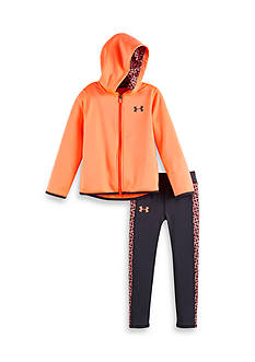 Under Armour 2-Piece Chain Grid Jacket And Legging Set Toddler Girls