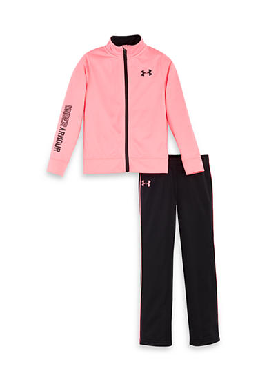 Under Armour® 2-Piece Tricot Jacket And Pant Set Toddler Girls