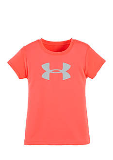 Under Armour® Glitter Logo Tee Toddler Girls
